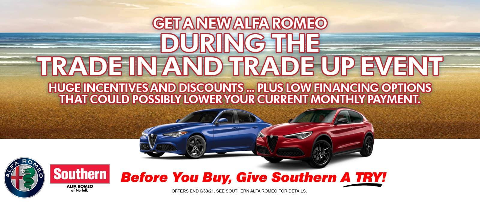 Southern Alfa Romeo Trade-In and Trade-Up