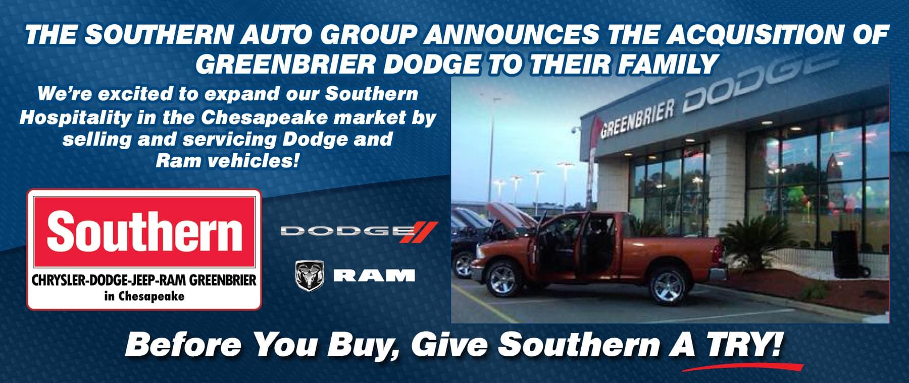 December Greenbrier Dodge