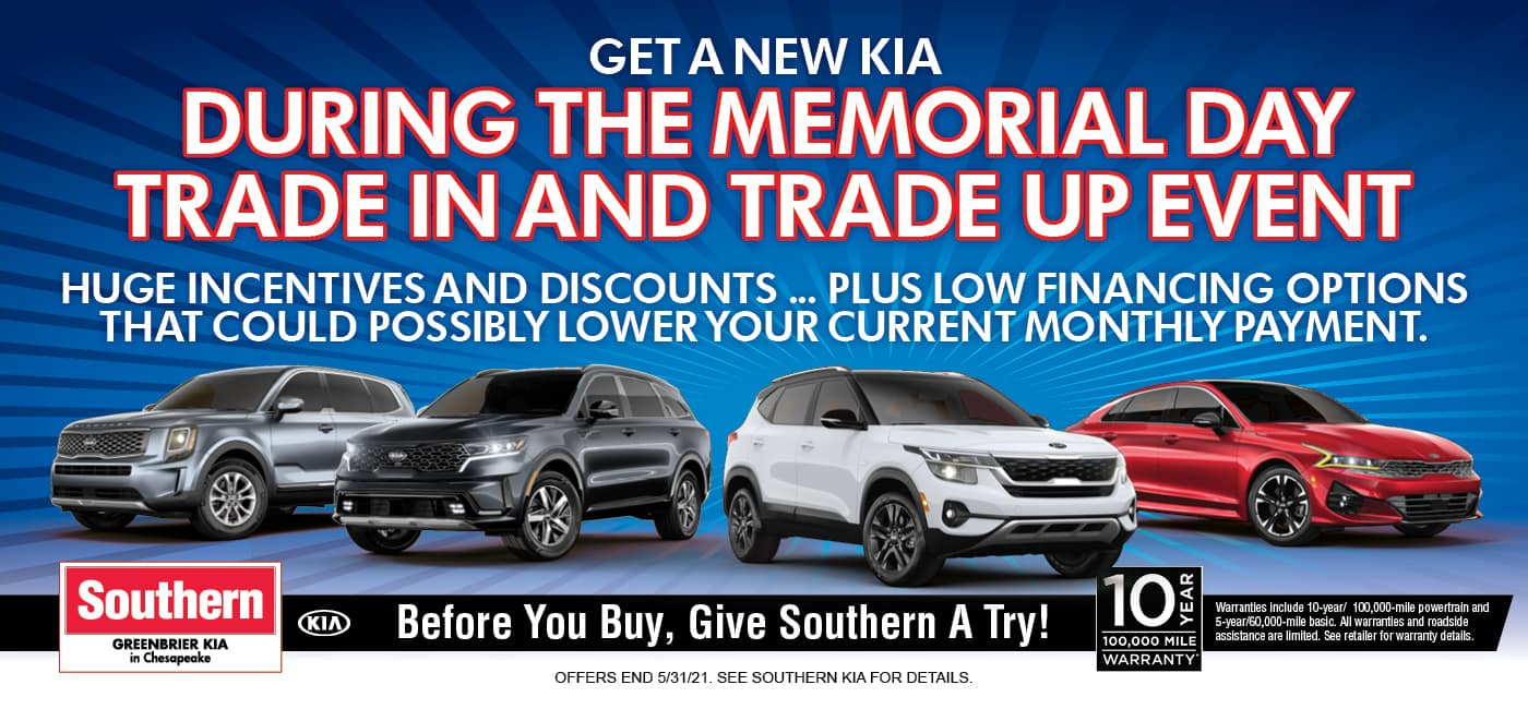 Greenbrier Kia Trade-in