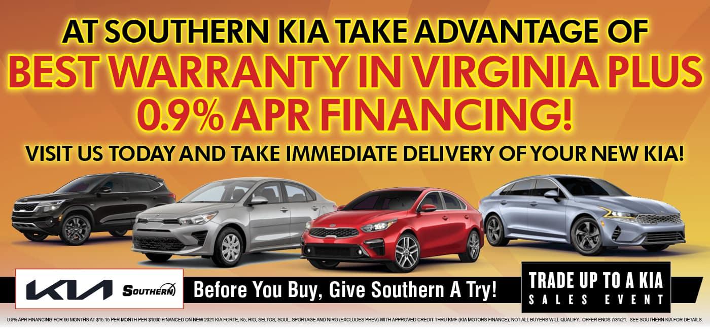 Southern Kia 0.9% Financing