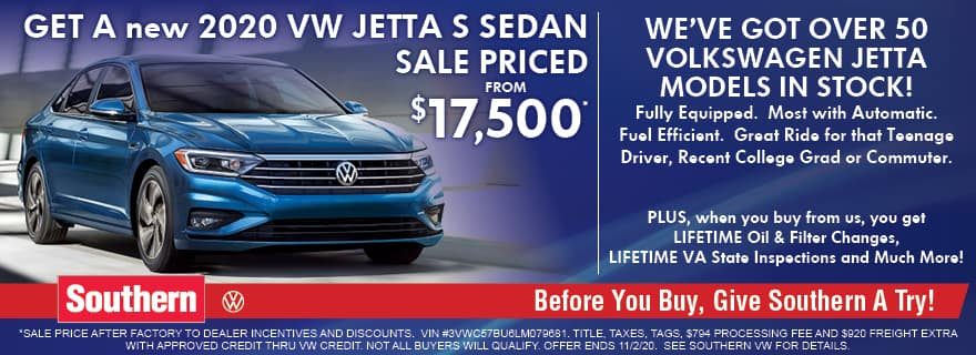 Southern VW Jetta – Oct 2020
