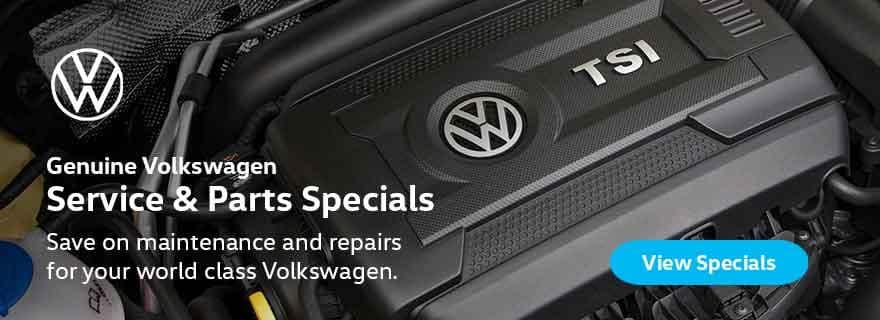VW Service & Parts Specials