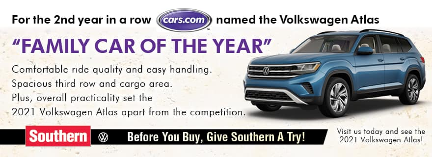 Cars.com Family Car of the Year – Southern VW
