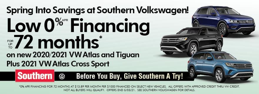 Southern VW 0% Financing