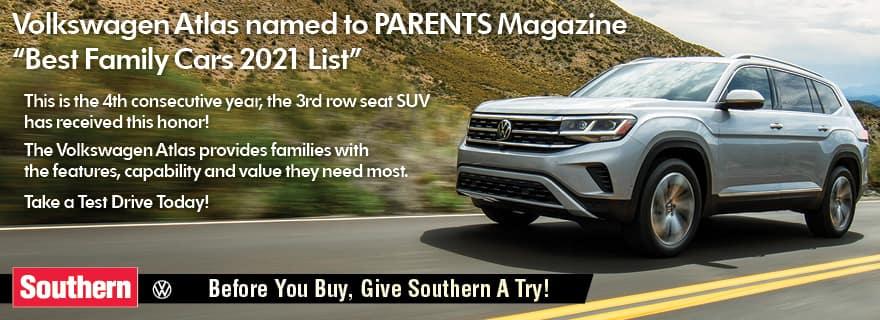Southern VW Atlas Award