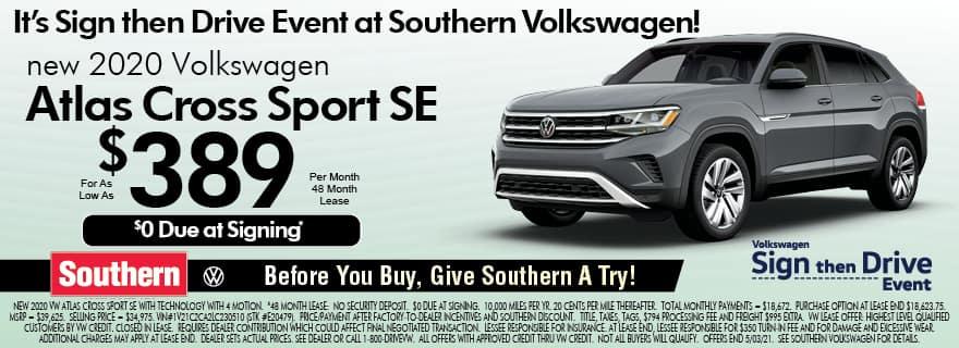 Southern VW Atlas Lease