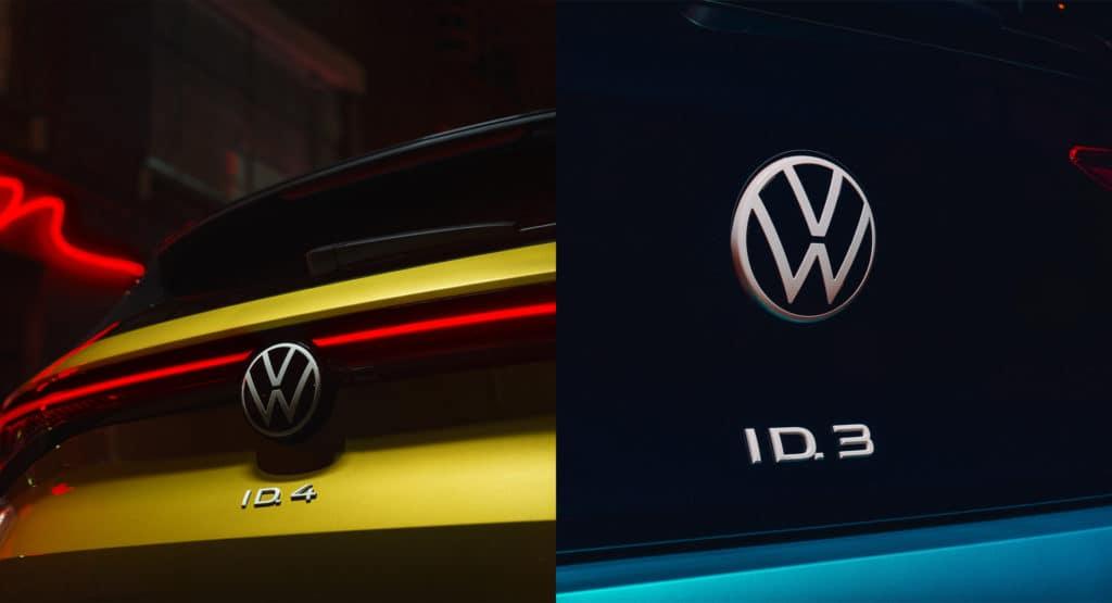 2021 VW ID4 ID3