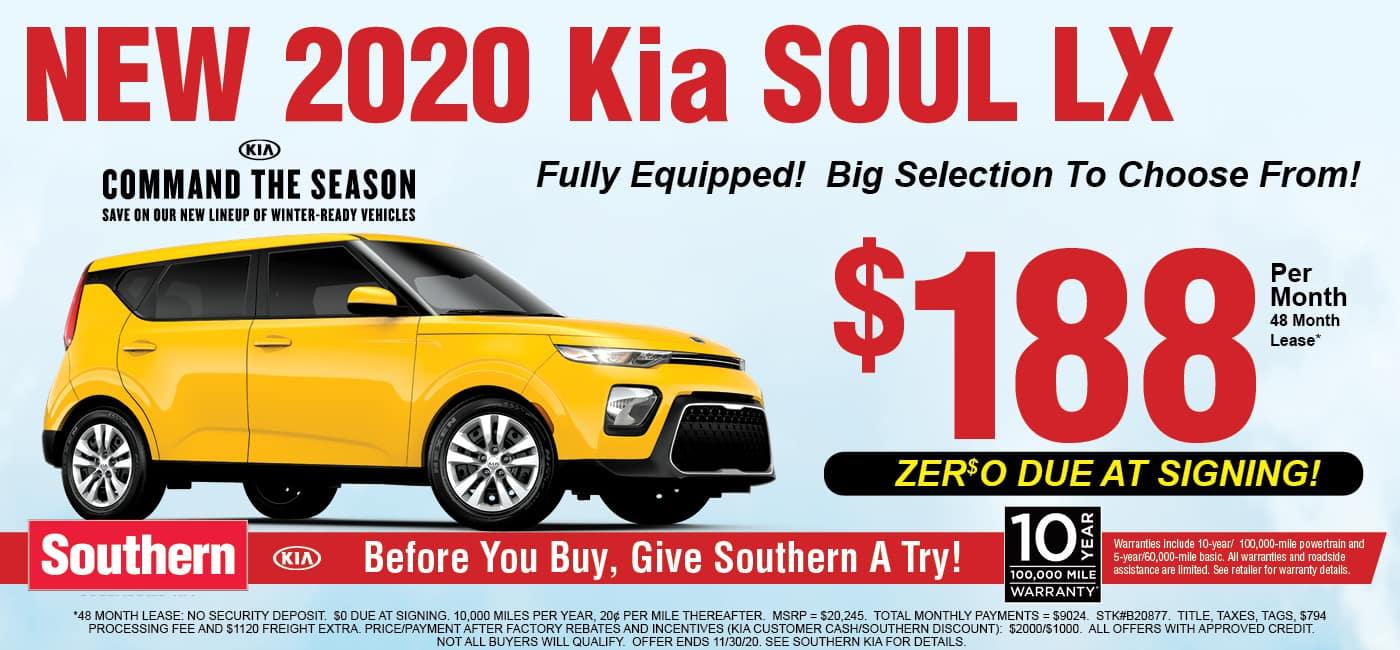 Kia Soul Command The Season