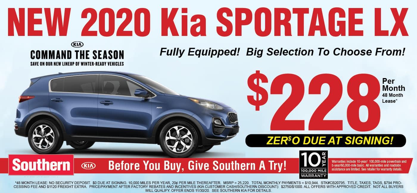 Kia Sportage Command The Season