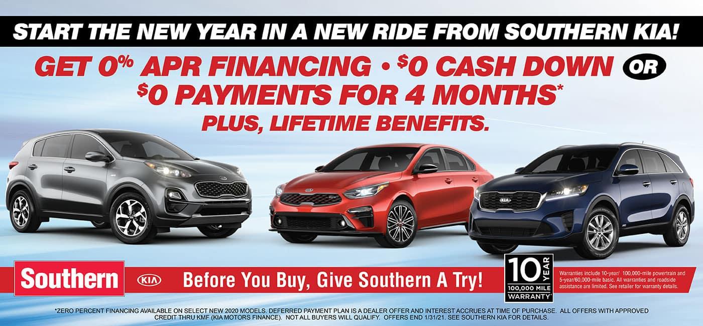 Southern Kia New Ride January 2021