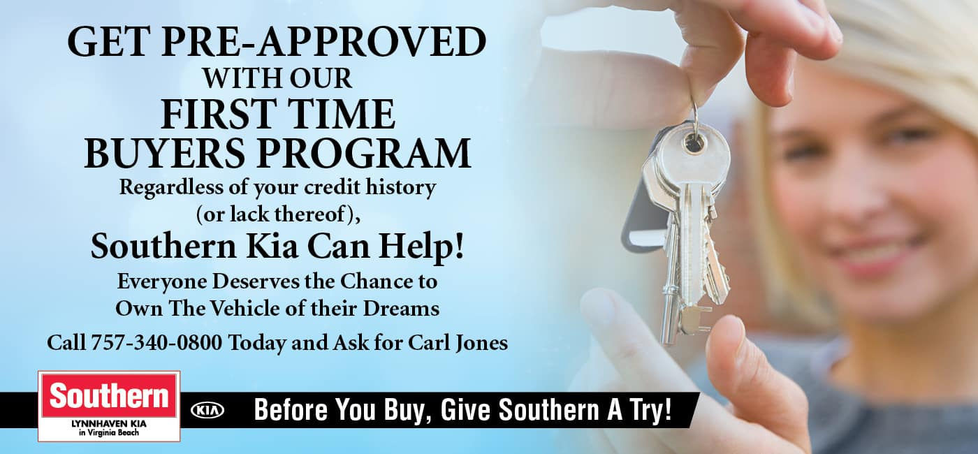 March – Lynnhaven Kia First Time Buyer