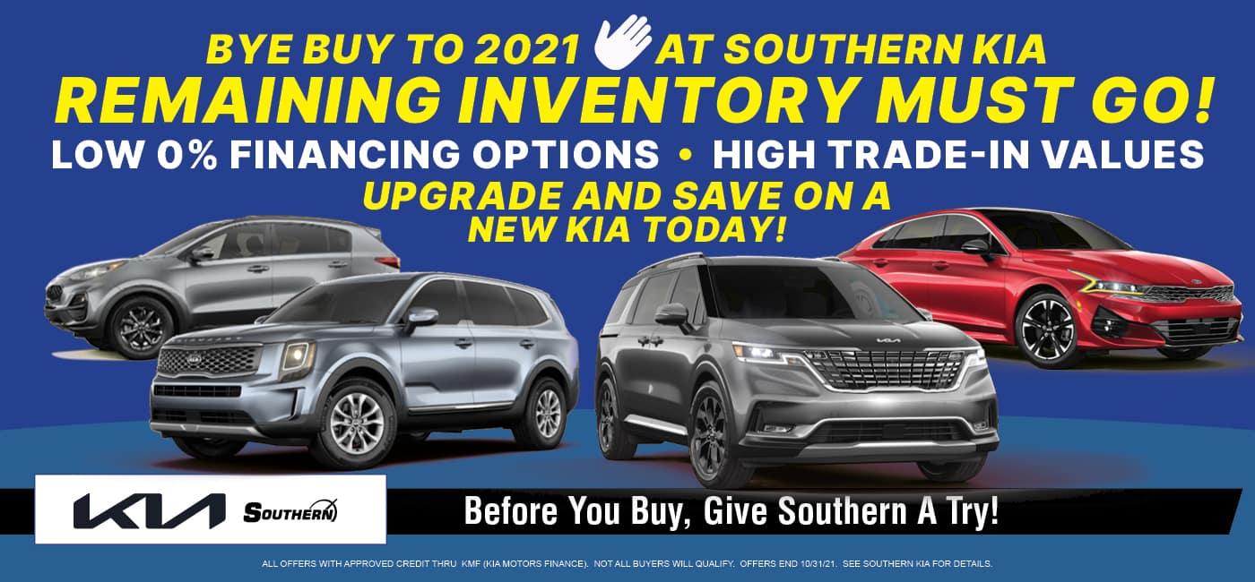 Southern Kia Bye Buy 2021