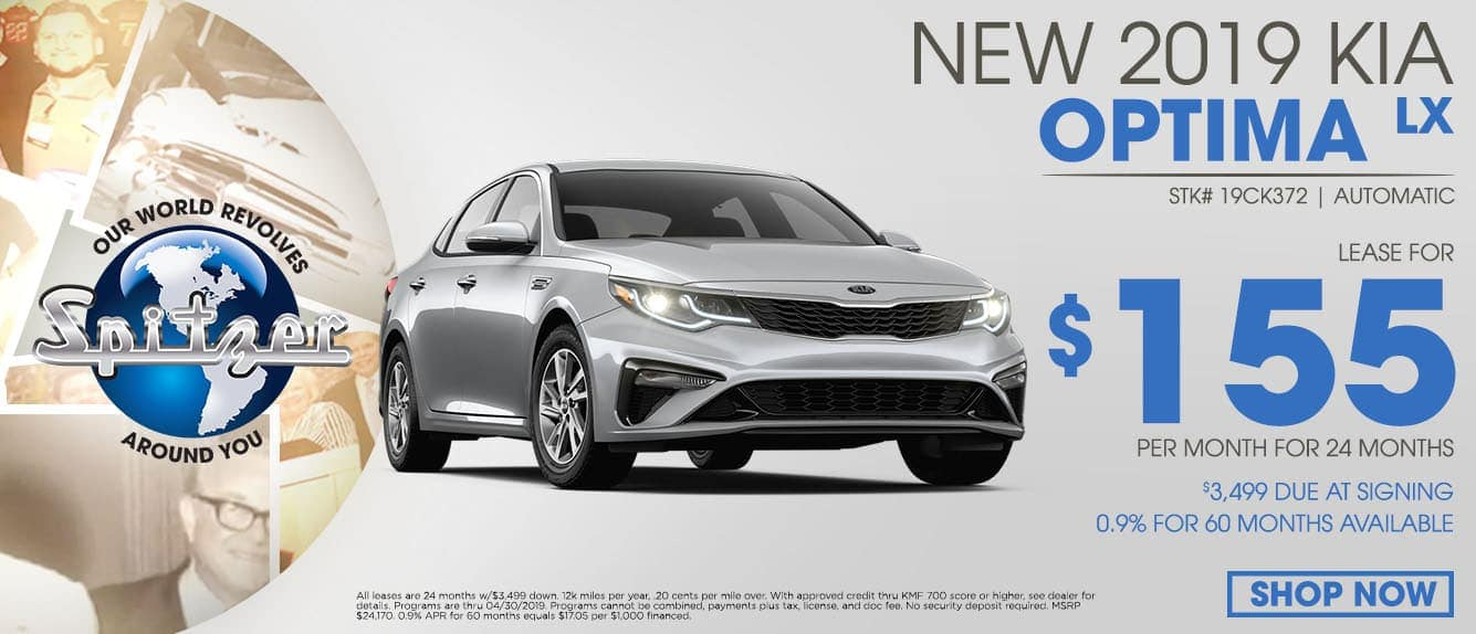 New 2019 Optima LX Special