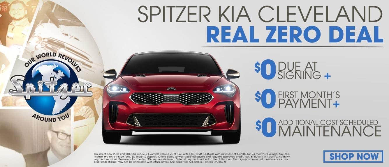 Spitzer Kia Cleveland Special