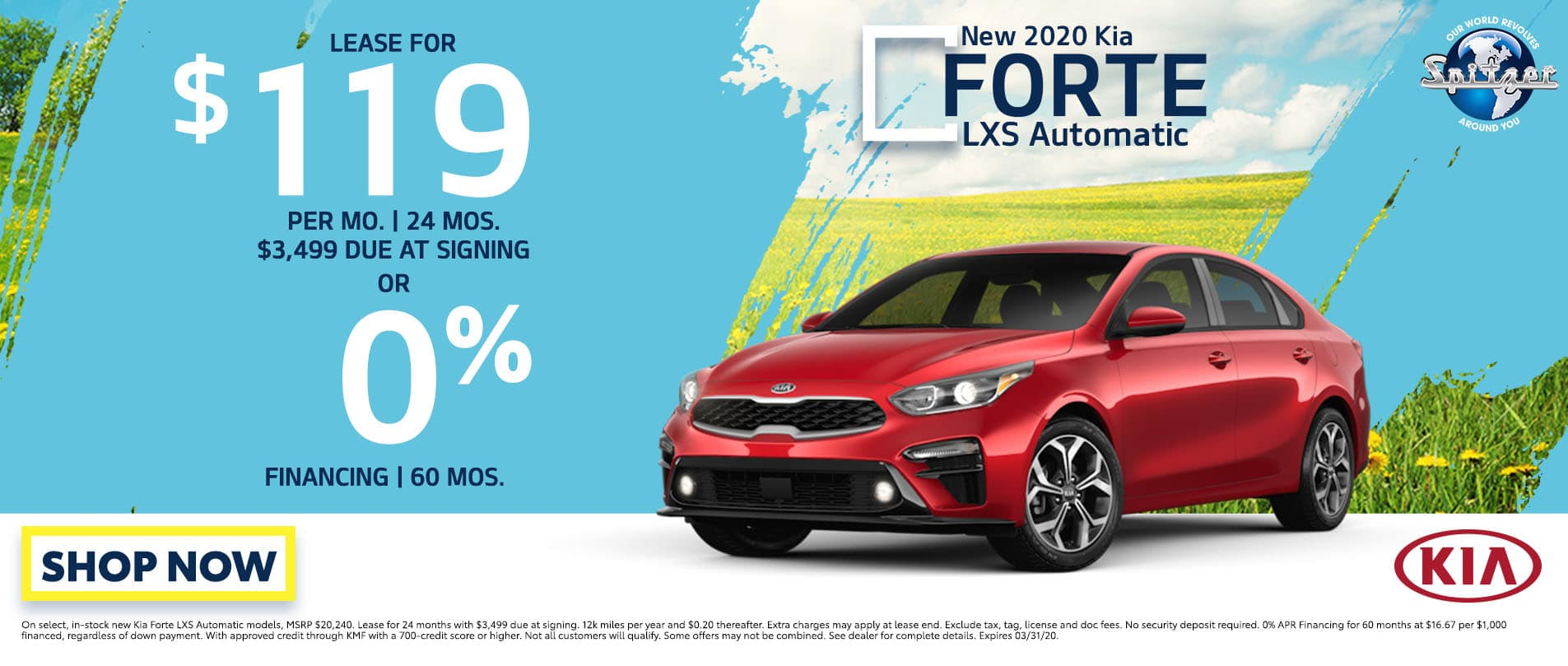 Forte   lease for $119 per mo