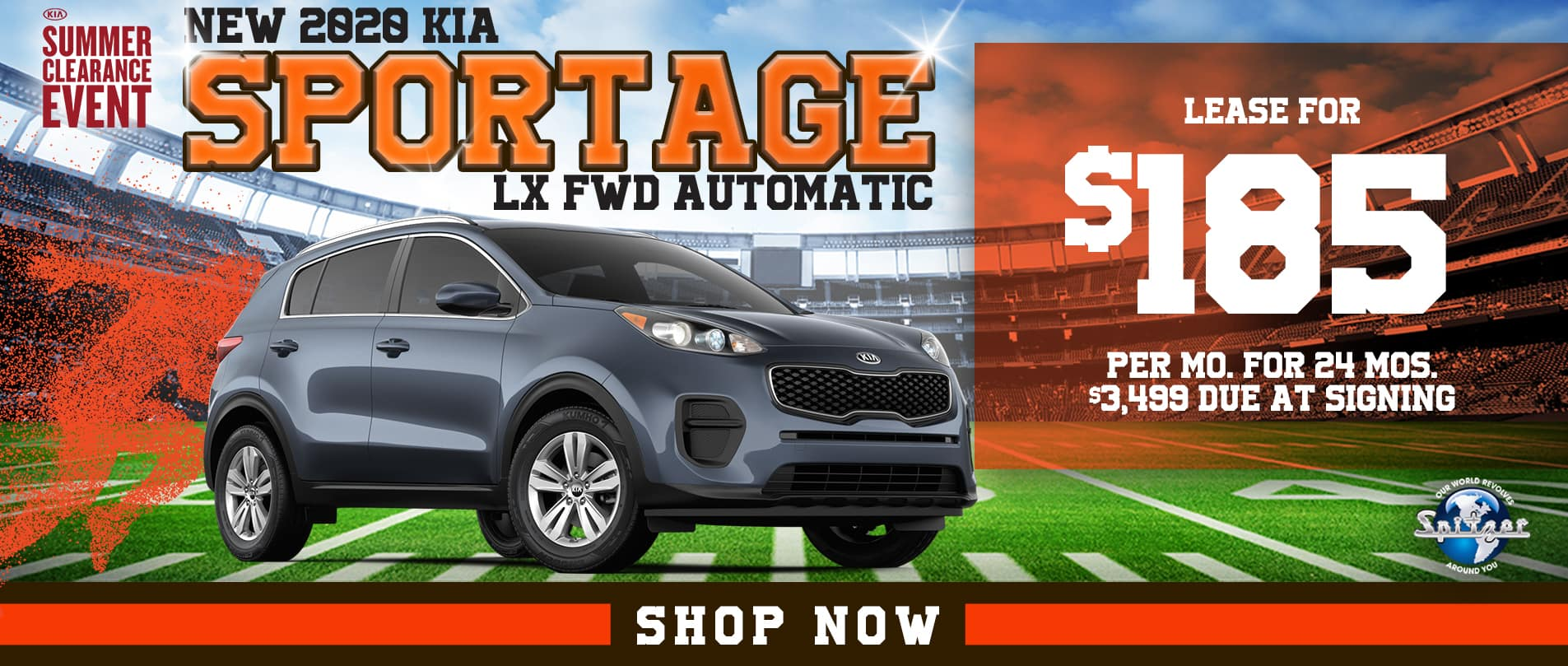 Sportage | Lease for $185 per month