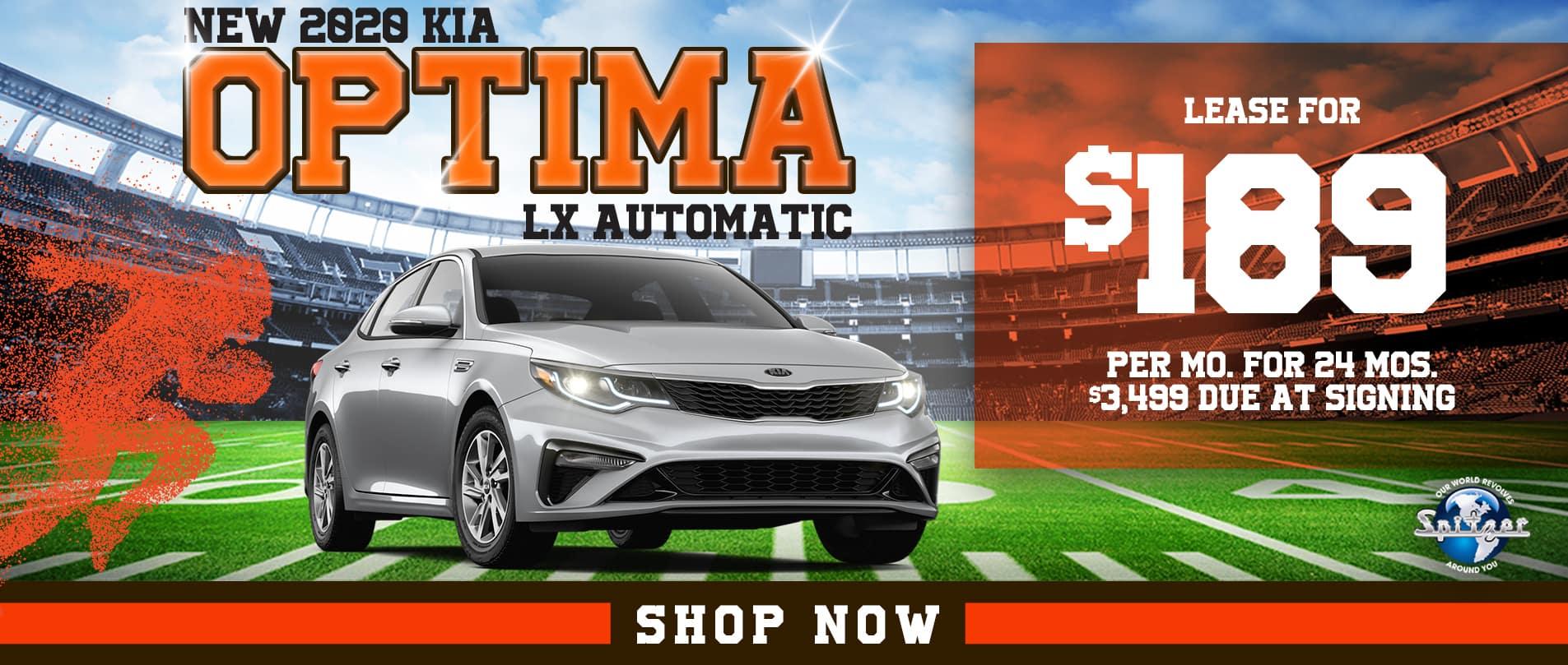 Optima | Lease for $189 per mo