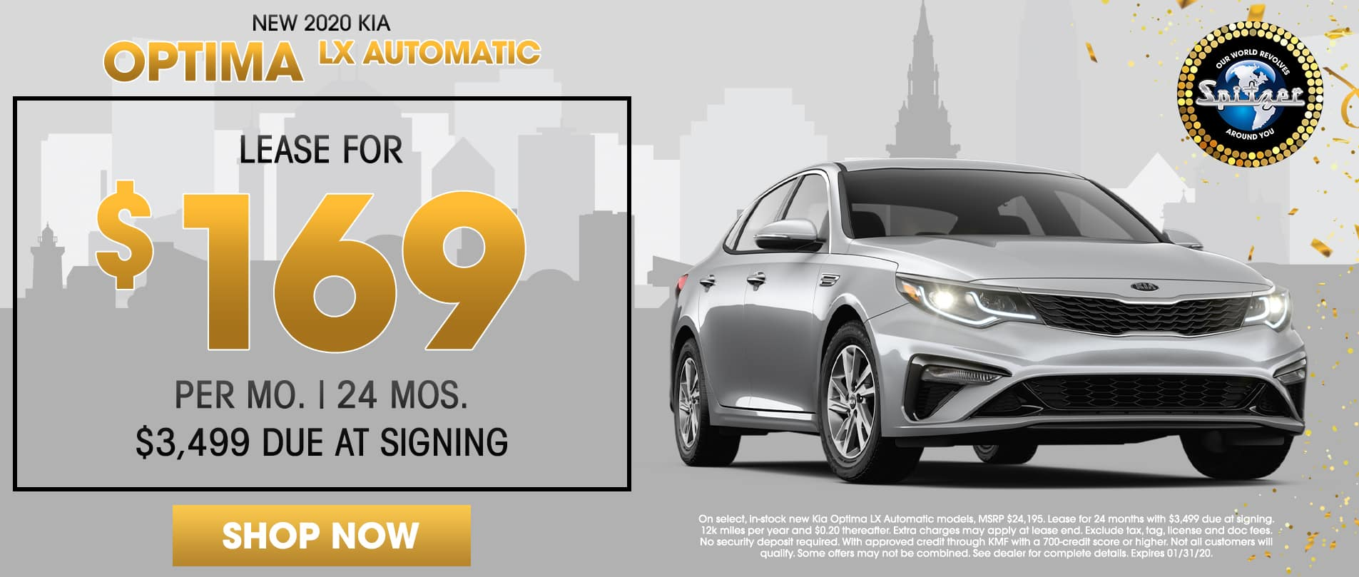 Optima | Lease for $169 per mo