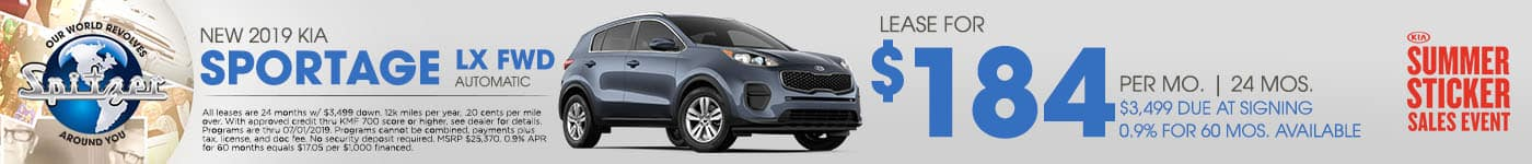 deal on sportage
