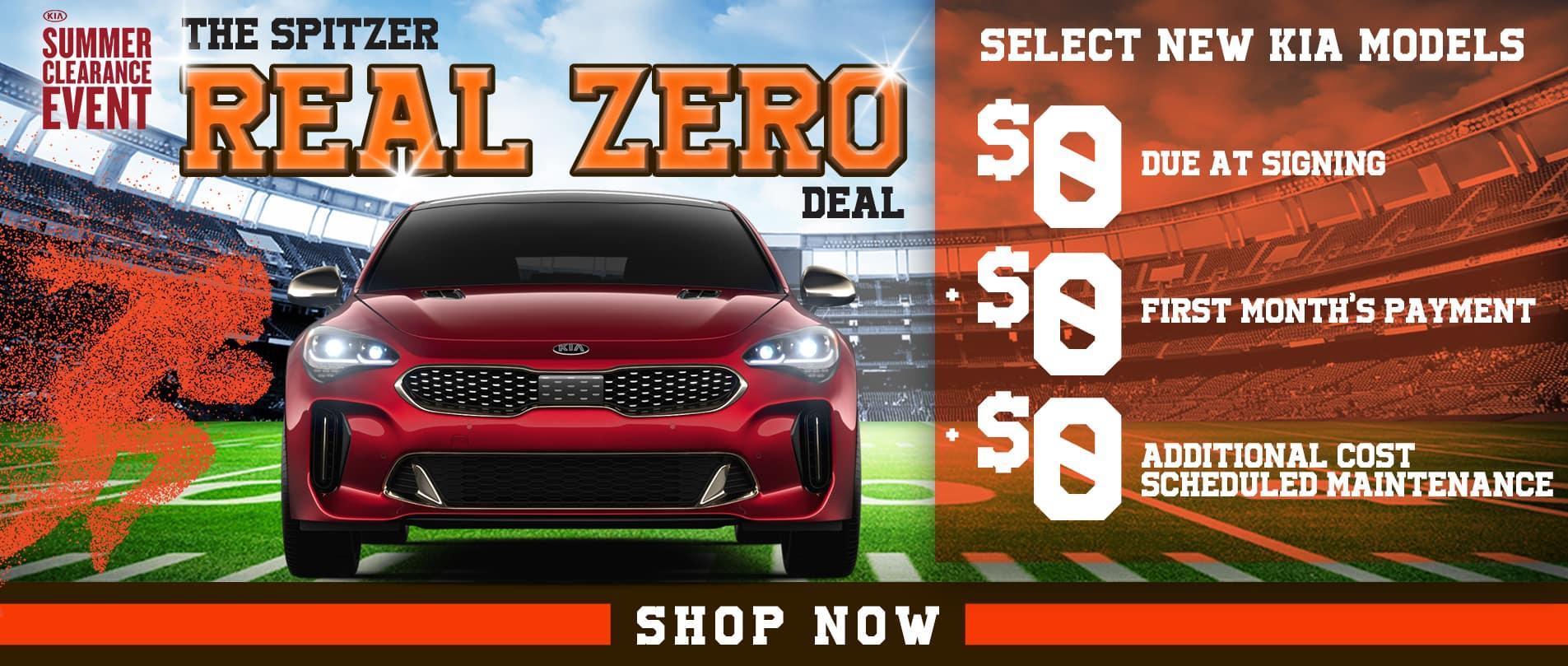 Spitzer Real Zero Deal