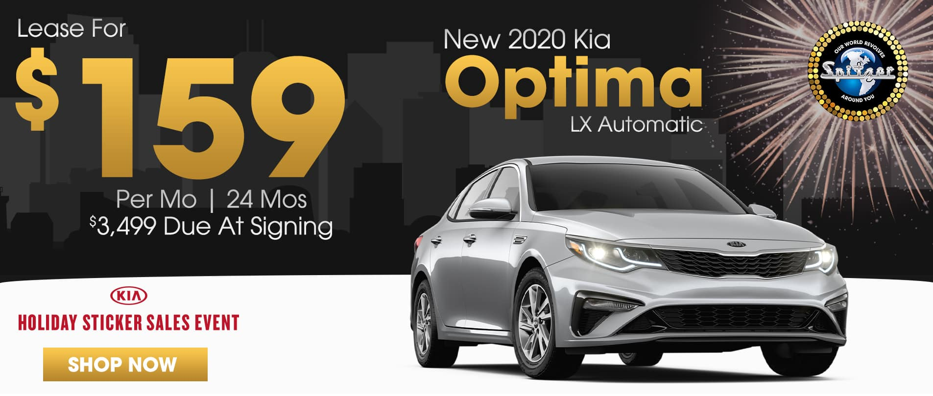 Optima | Lease for $159 per mo