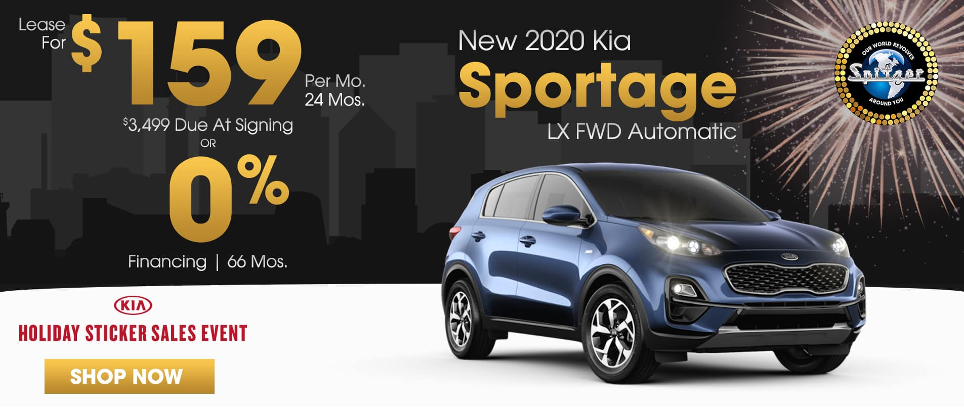 Sportage | Lease for $159 per mo