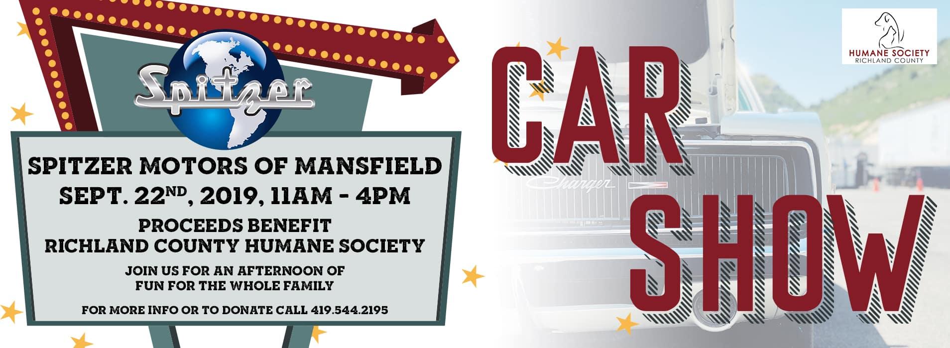 Mansfield Car Show | Sept. 22, 2019