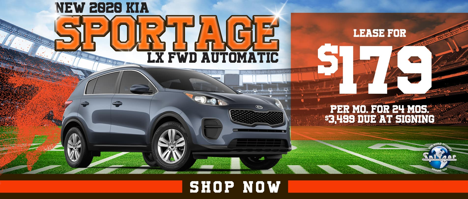 Sportage | Lease for $179 per mo
