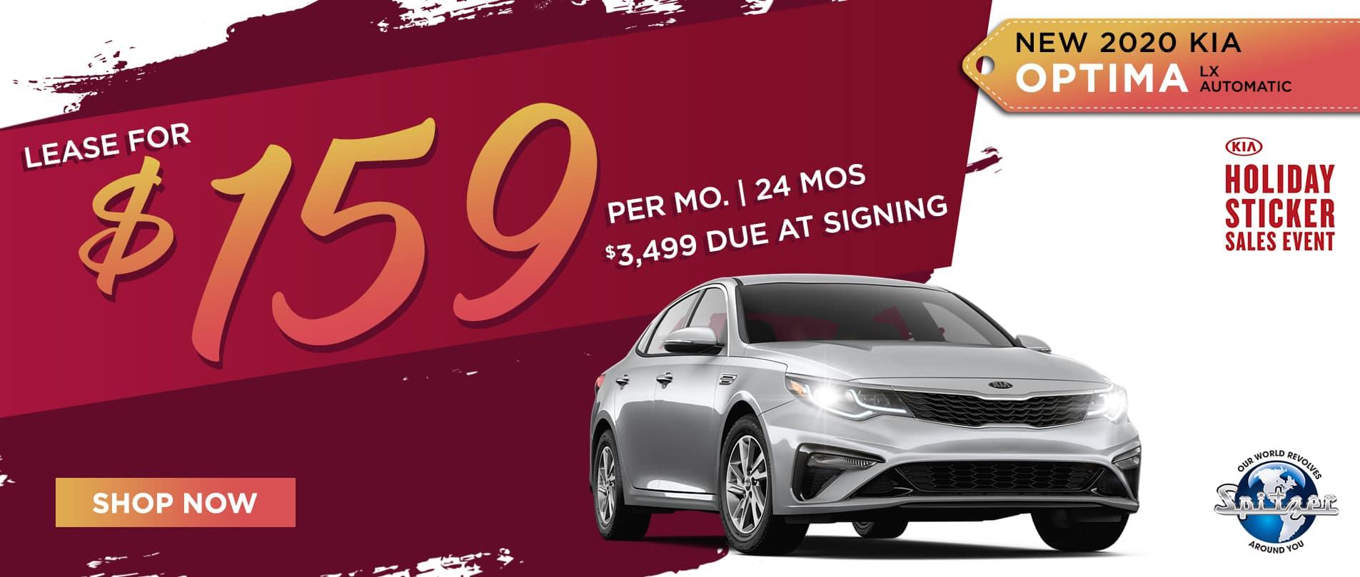 Optima   Lease for $159 per mo