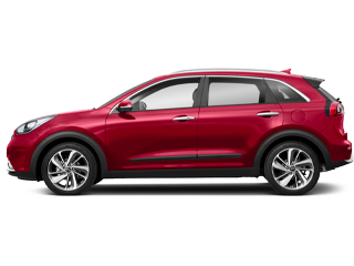 Red Kia Niro