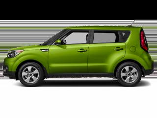 Green Kia Soul