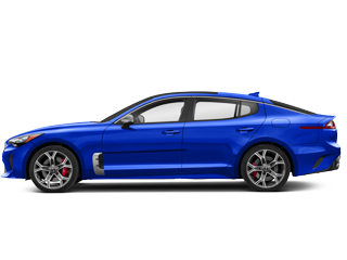 Blue Kia Stinger