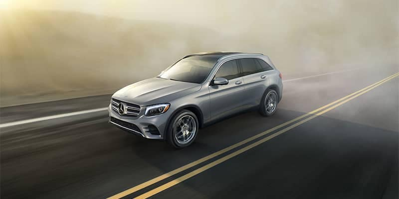 Mercedes-Benz GLC Driving