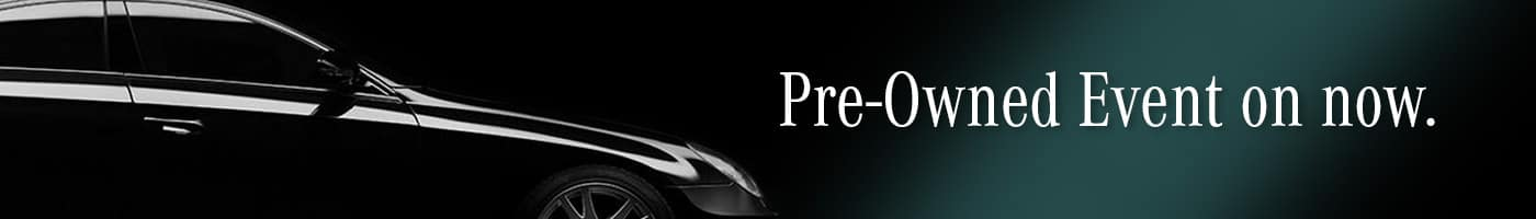 Pre-owned Event Banner