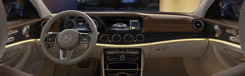2019 Mercedes-Benz E-Class Interior Dashboard