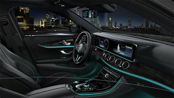 2019 Mercedes-Benz E-Class Interior Front Seating and Features