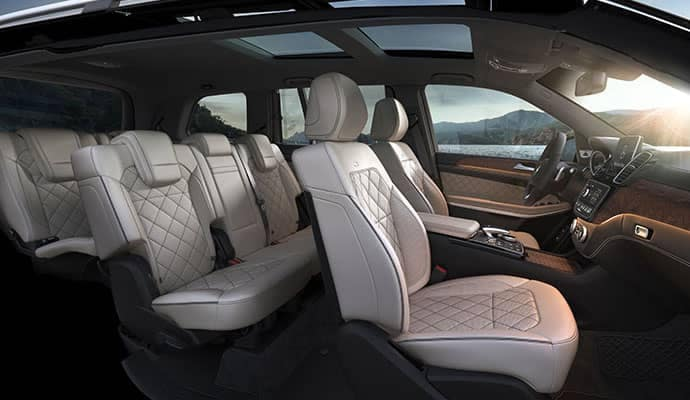 2019 Mercedes-Benz GLS Interior Space