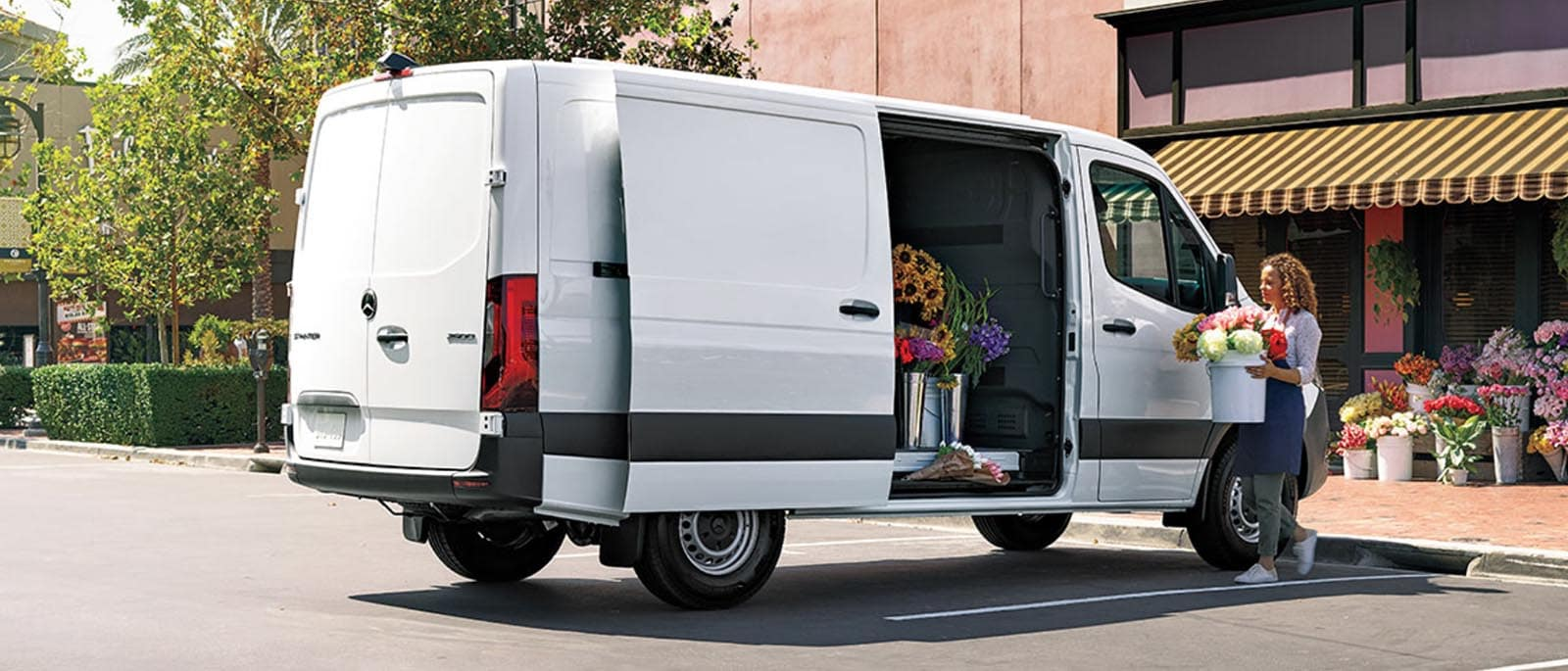 Sprinter Flower van