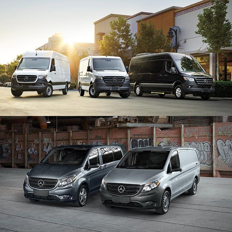 Sprinter and Metris Vans