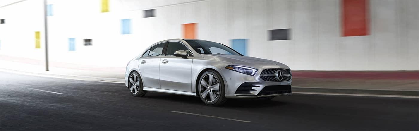 Mercedes-Benz A-Class Driving