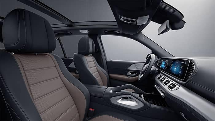 Mercedes-Benz GLE Interior Front Seating
