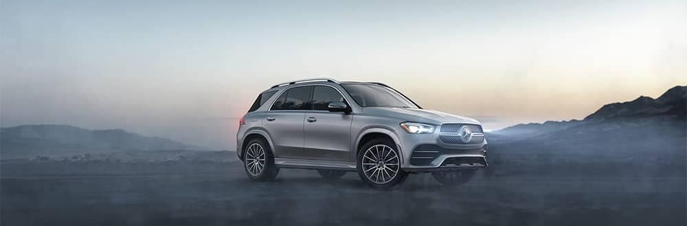 Mercedes-Benz GLE Parked in Fog
