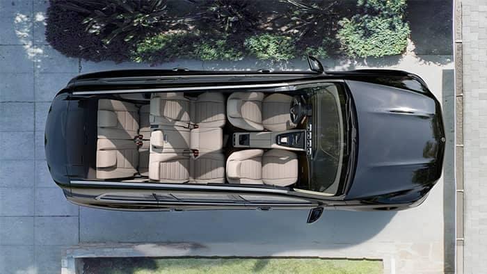 Mercedes-Benz GLS Interior View Top