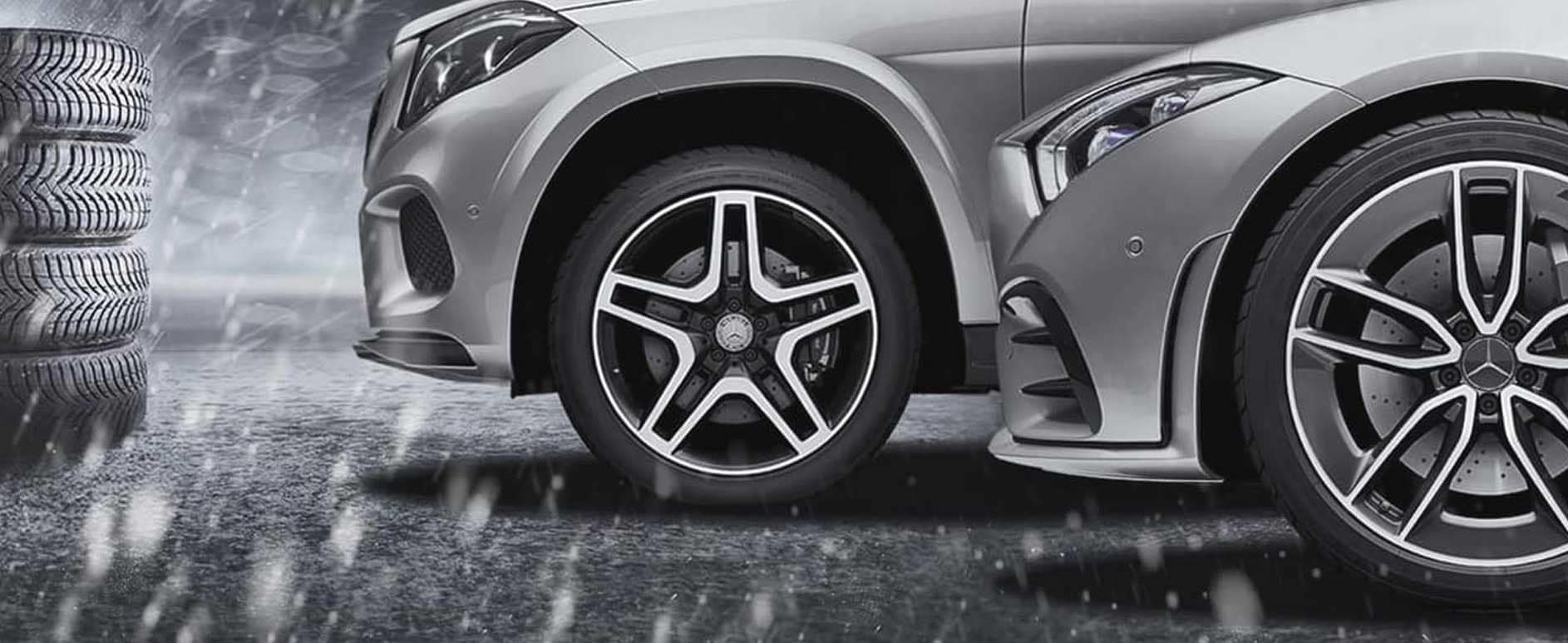 Mercedes-Benz Winter Tire and Wheels Sets