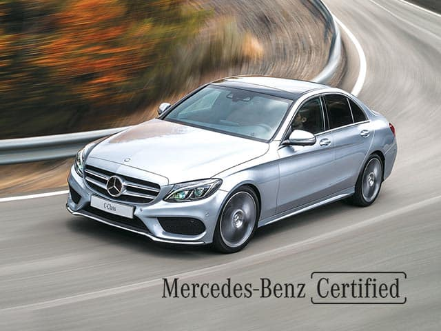 2017-2018 Mercedes-Benz Certified Pre-Owned C300 Sedans