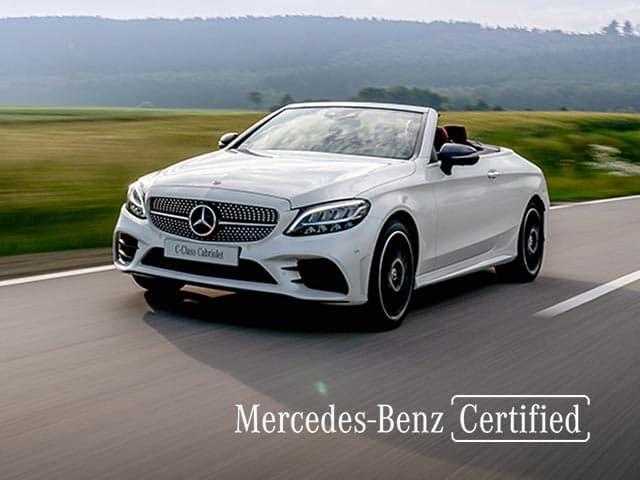 Mercedes-Benz des années modèles 2017 à 2020 (AMG exclus)