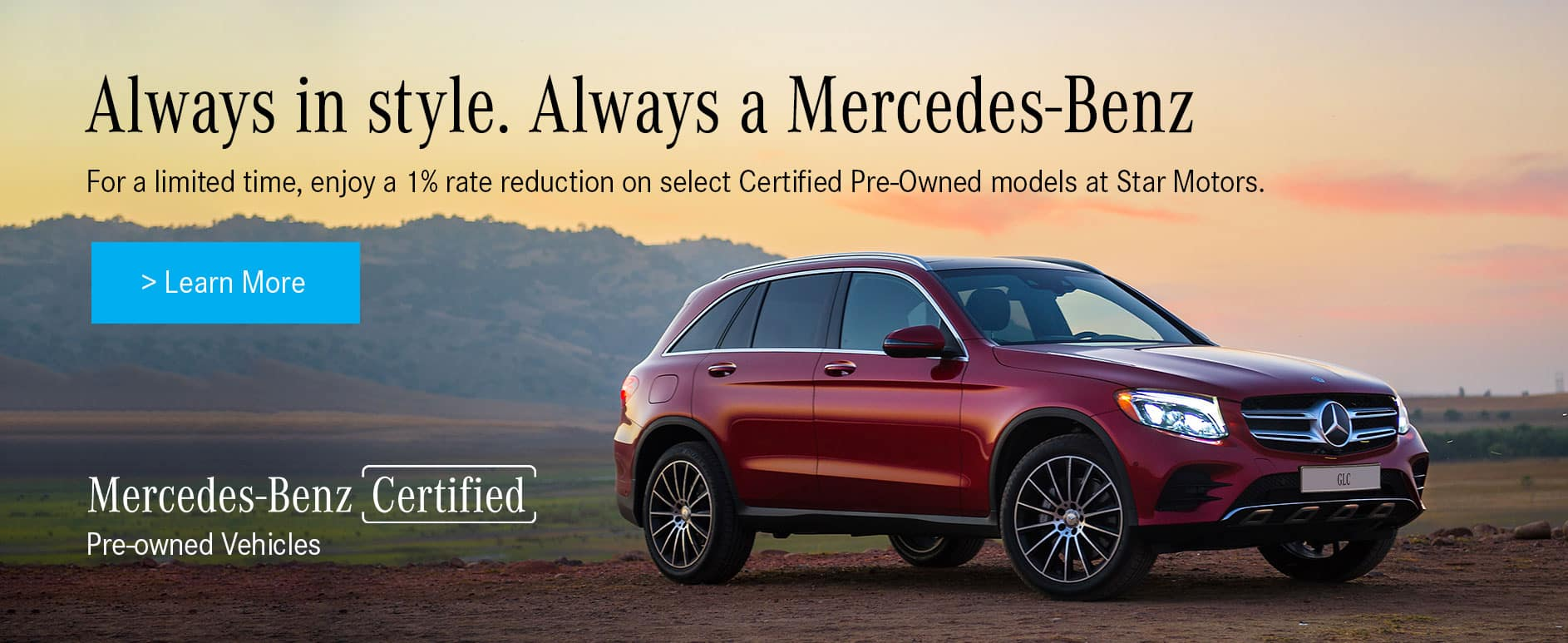 Certified Pre-Owned Offers at Star Motors