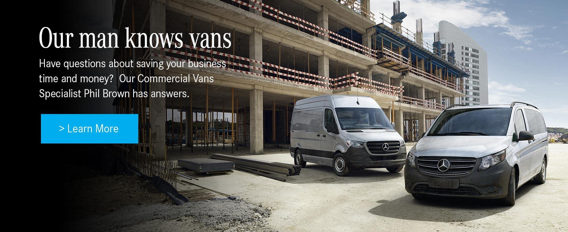 Mercedes-Benz Vans Expert Phil Brown