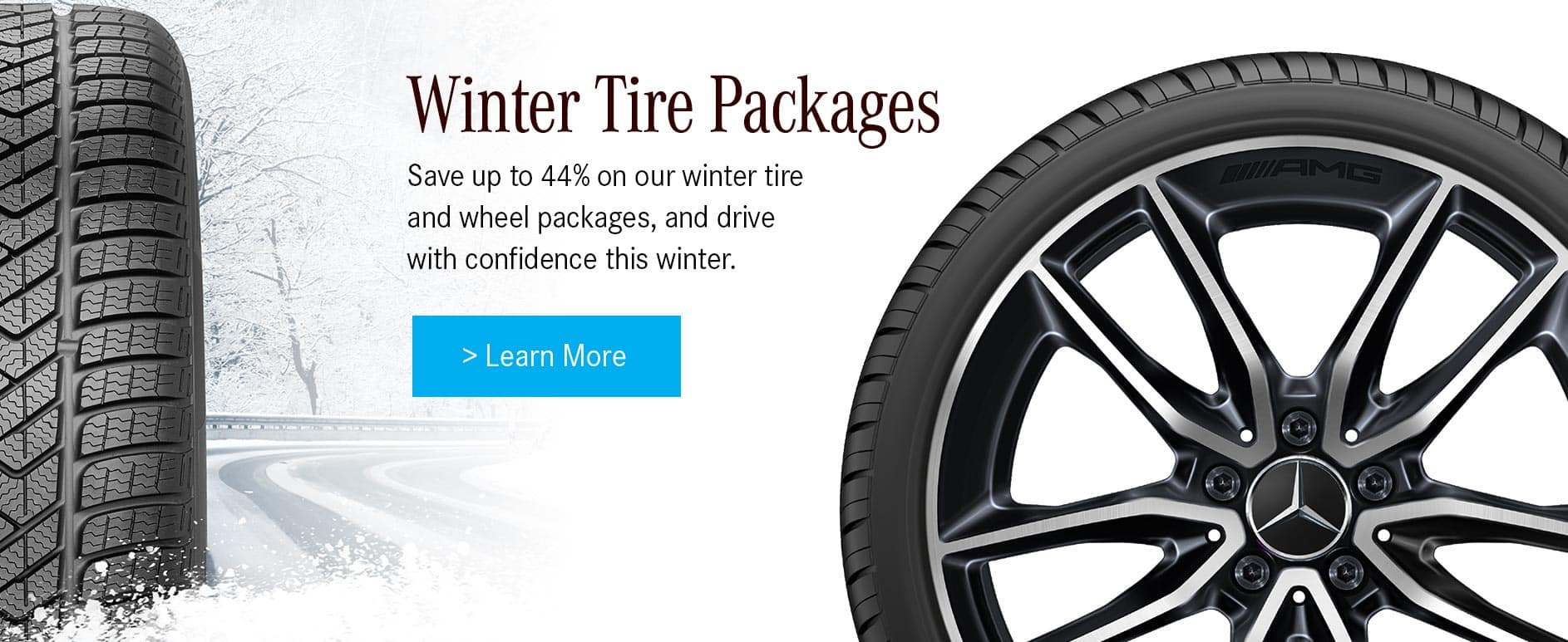 Mercedes-Benz winter tire packages at Star Motors of Ottawa