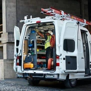 2018 Nissan NV Cargo Open Doors